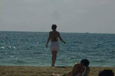Me on the Beach - Love the Ocean